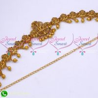 Temple Jewellery Kids Hip Chains Matte Gold Plated Traditional Designs Online