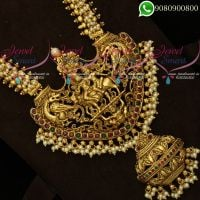 Pearl Temple Jewellery Shiv Darbar Design South Indian Imitation Collections