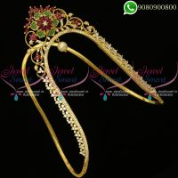Vanki Designs Bridal Jewellery Gold Catalogue AD Stones Online