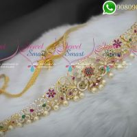 Hip Chains Waist Belt AD Stones Jewellery Bridal Small Size Online