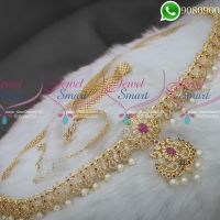 Peacock Jewellery Bridal Hip Belt Chain Type New Designs Online