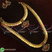 Temple Coin Bridal Set Antique Jewellery Traditional Design Shop Online