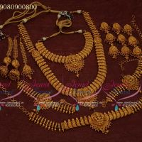 Bridal Jewellery Set Wedding Collections Complete Set Premium Designs