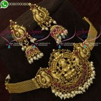 Choker Necklace Temple Jewellery Wedding Imitation Collections Shop Online