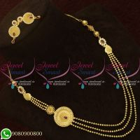 Forming Gold Jewellery Beads Model Layered Design New Collections