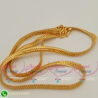 Gold Plated 18 Inches Mens Chain Daily Wear South Indian Jewellery