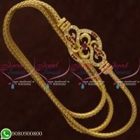 Gold Plated Jewellery Mugappu Chain Thali Kodi AD Stones Shop Online
