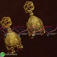 Indian Jhumka Earings Online Shopping Latest Antique Jewellery Designs