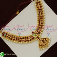 Kemp Necklace Dance Jewellery Classical Kuchipudi Bharathanatyam Pathakkam