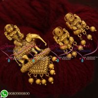 Pendant Set Temple Jewellery Bahubaali Movie Inspired Designs Online