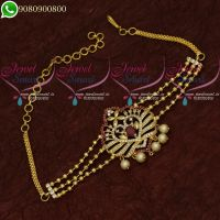 Vanki Baju Band American Diamond Jewellery Designs Bridal Collections Online