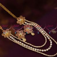 cz-ruby-multi-strand-long-grand-party-wear-dulhan-wedding-jewellery-buy-online