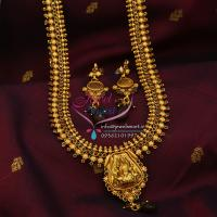 Indian_Traditional_Imitation_Temple_Jewellery_Long_Haaram_Necklace_God_Pendant