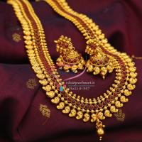 Indian_traditional_Ethnic_Mango_Design_Temple_Kempu_Stones_Long_Necklace_Jhumka_Earrings
