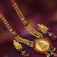 Indian_Traditional_Imitation_Fashion_Jewelry_Gold_Plated_Temple_Kempu_Necklace_Earrings_Online_Shopping