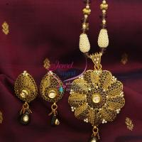 Beaded_Fashion_Jewellery_Necklace_Jaipur_Meena_Balls_Synthetic_Pearls