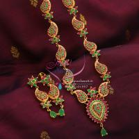 Indian_Traditional_Fashion_Imitation_Jewelry_Mango_Long_Haar_Necklace_Ruby_Online_Shopping