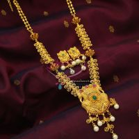 temple-pearl-drops-one-gram-gold-plated-temple-long-necklace-dulhan-jewellery