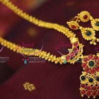 Indian-traditional-gold-design-best-quality-temple-mango-laxmi-jewellery