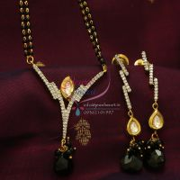 cubic-zircon-kundan-mangalsutra-indian-traditional-auspicious-jewellery-online
