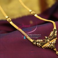 gold-design-plated-american-diamond-stones-south-indian-traditional-jewellery-haram-long-necklace-online