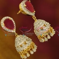 jhumka-american-diamond-white-ruby-gold-design-imitation-jewelry-buy-online