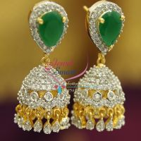 jhumka-american-diamond-white-emerald-gold-design-imitation-jewelry-buy-online