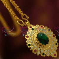salem-south-indian-traditional-gold-design-handwork-pendant-one-gram-chain-buy-online