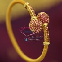 ruby-stones-gold-plated-twist-open-kada-offer-price-buy-online-fancy-jewellery