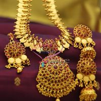 temple-kempu-south-indian-traditional-haram-jewellery-online-offer-price