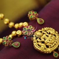 beaded-indian-ethnic-traditional-jewelry-antique-gold-plating-design-god-pendant-semi-precious