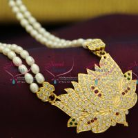 fresh-water-pearl-mala-2-lines-gold-finish-american-diamond-traditional-south-indian-pendant