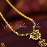online-offer-price-colour-kempu-stones-yellow-plated-gold-imitation-pendant-sets