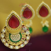 fancy-design-antique-pearl-gold-design-pendant-set-buy-online-imitation-fashion