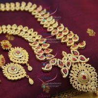 south-jewellery-grand-exclusive-wedding-dulhan-jewellery-long-haram-necklace-sparkling-cz-stones-online