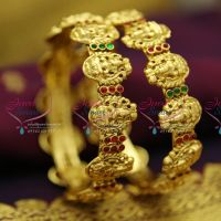 traditional-indian-temple-laxmi-god-nakshi-handmade-kempu-bangles-antique-gold-plated-jewellery