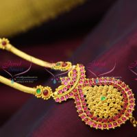 temple-kempu-indian-traditional-long-necklace-jhumka-earrings-buy-online-cheap-wholesale