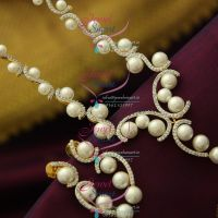 exclusive-pearl-cz-combination-party-wear-collection-diamond-design-jewellery-online