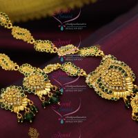 antique-style-gold-colour-stones-handmade-gold-plated-jewellery-latest-collections-offer-price