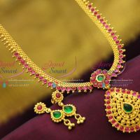 temple-kempu-south-indian-traditional-gold-design-imitation-artificial-jewellery-collections-online