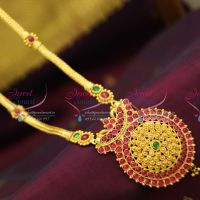 temple-jewellery-precious-kemp-kempu-spinel-ruby-gold-plated-traditional-south-jewellery-necklace