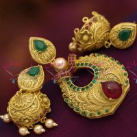 fancy-grand-pearl-danglers-antique-plated-chain-pendant-earrings-fashion-jewellery-collections