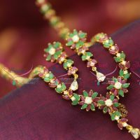 floral-design-ruby-emerald-long-necklace-earrings-emerald-indian-traditional-fashion-jewelry-online