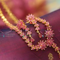 floral-design-ruby-long-necklace-earrings-emerald-indian-traditional-fashion-jewelry-online