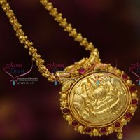 indian-traditional-jewelry-fancy-chain-temple-spinel-ruby-emerald-nakshi-handwork-pendant