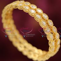 oval-sparking-american-diamond-stones-precious-one-gram-gold-plated-bangles-buy-online-quality-imitation-jewelry