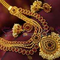 wedding-jewellery-cz-ruby-multi-strand-bridal-real-gold-design-high-grand-collections