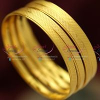 gold-plated-4-pieces-set-bangles-marriage-wedding-light-weight-casual-long-colour-life-bangles