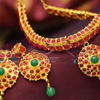 temple-kemp-stones-spinel-ruby-jewellery-traditional-indian-necklace-set-online-offer