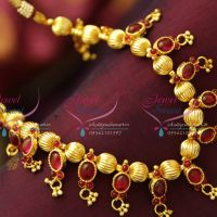 kemp-gold-plated-beaded-jewellery-spinel-ruby-original-gold-design-look-jewellery